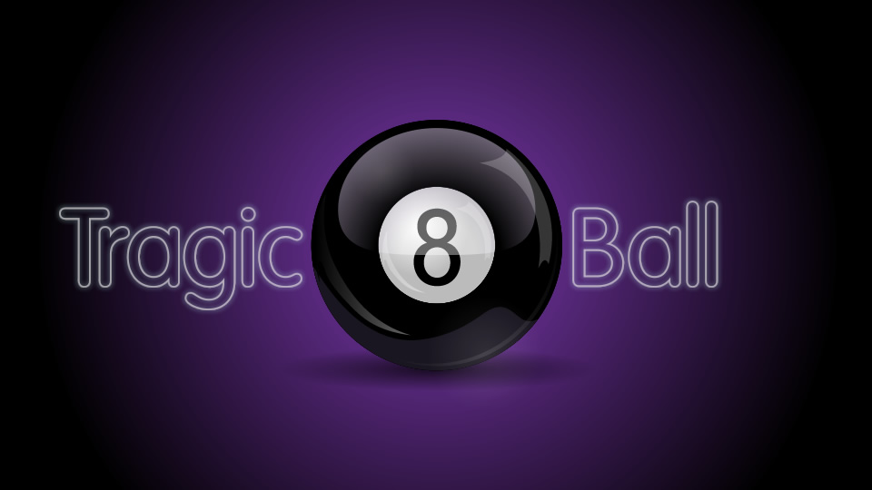 Tragic 8 Ball Logo